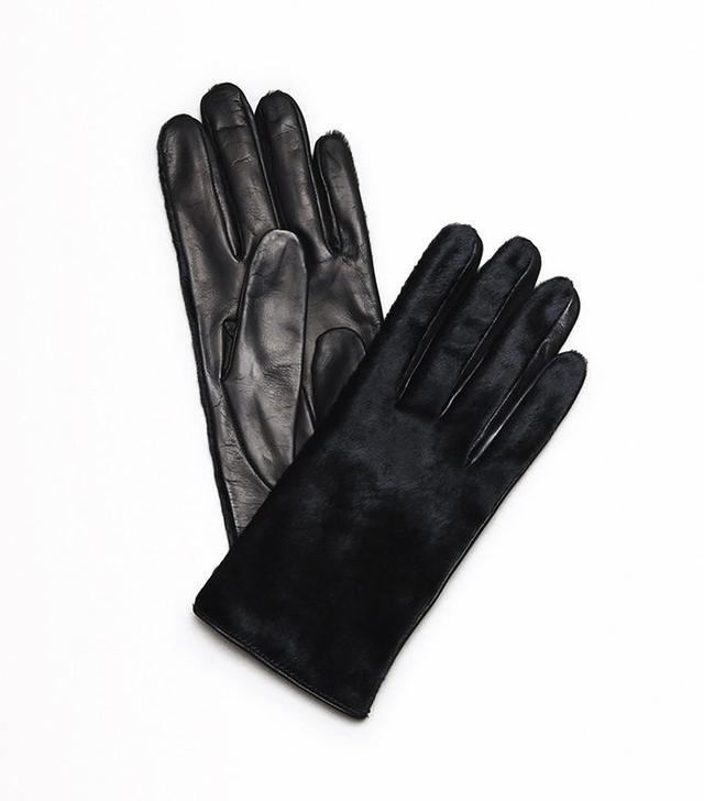 Kenneth Cole Calf Hair Gloves