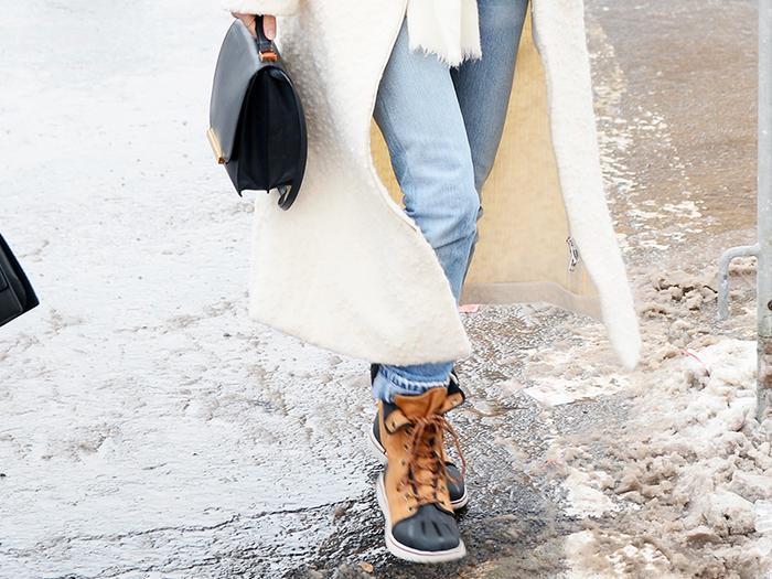stylish snow boots