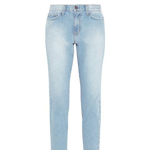 The Mami High-Rise Slim Boyfriend Jeans