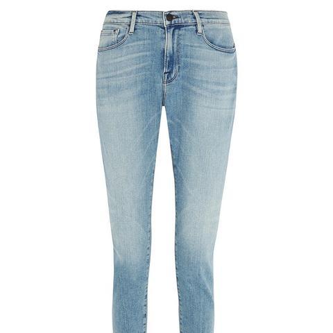 Le Garçon Mid-Rise Slim Boyfriend Jeans