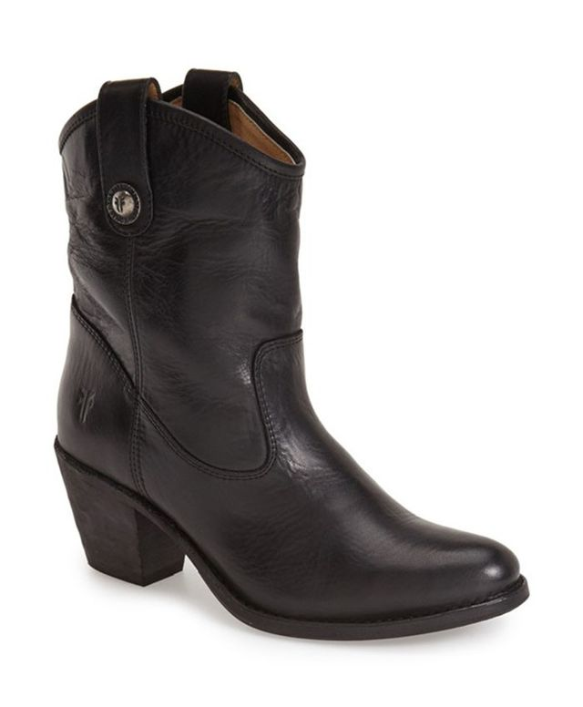 Frye Jackie Button Short Bootie