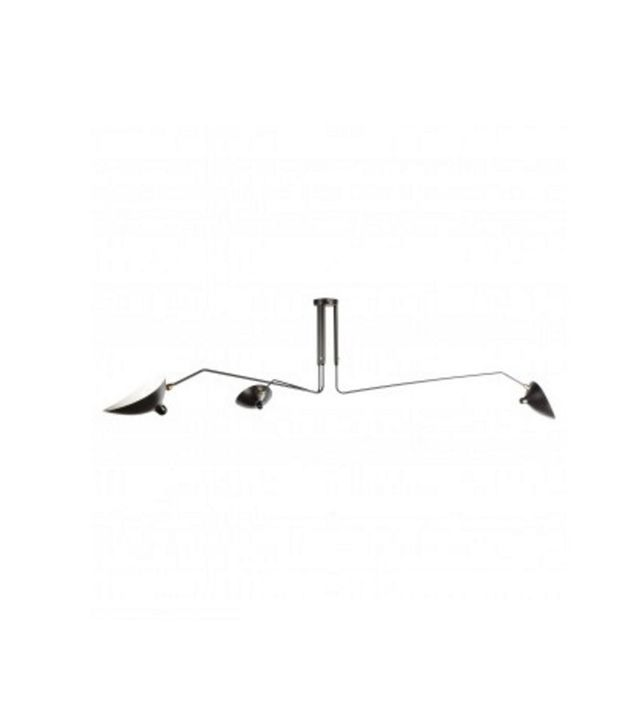 France & Søn Three-Arm Ceiling Lamp