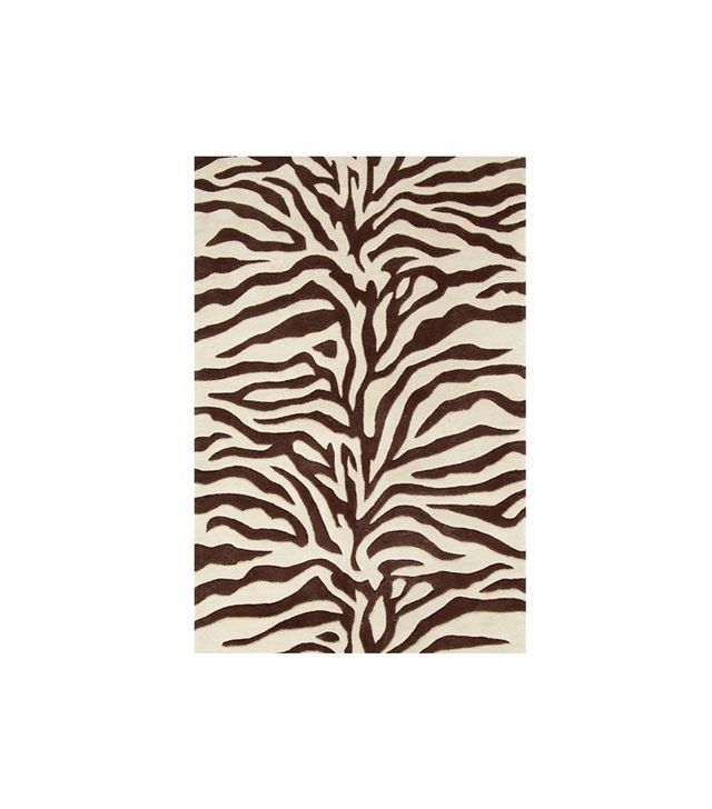 Dash & Albert Zebra Tufted Wool Rug