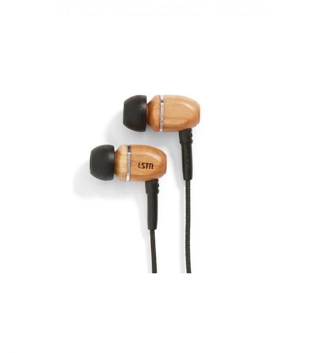 LSTN 'The Bowerys' Beech Earbuds