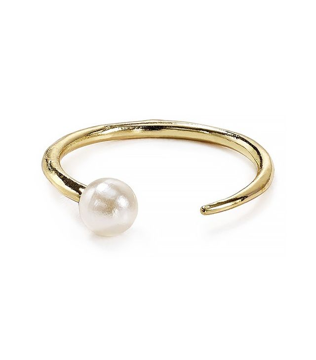 Jules Smith Modern Faux-Pearl Ring