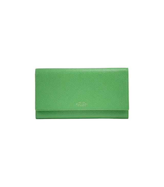 Smythson Panama Marshall Travel Wallet