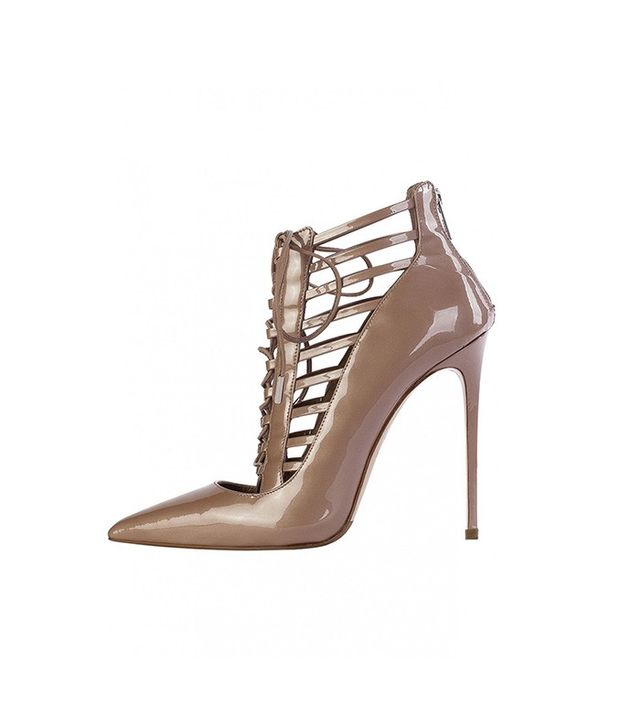 Le Silla Nude Cage Ankle Boots