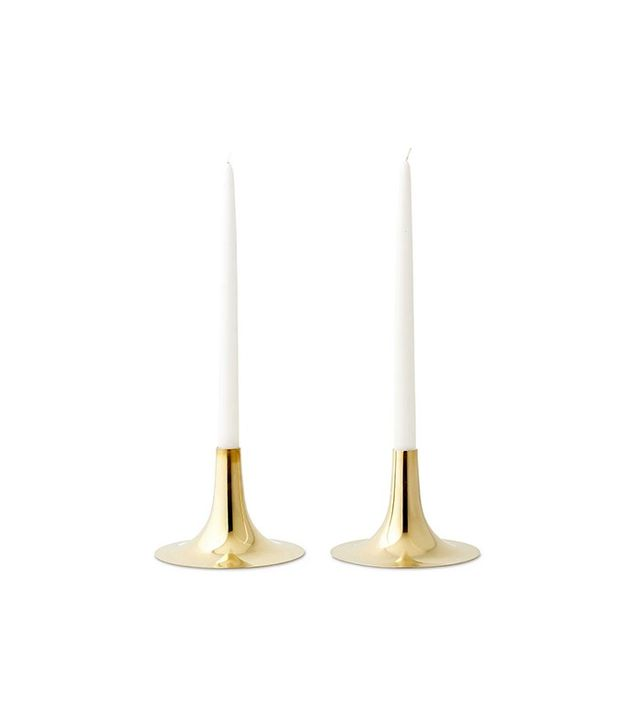 S/2 Jia Brass Candlestands