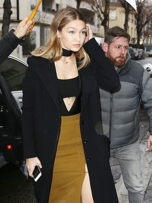 Gigi Hadid's Leggy Pencil Skirt Is on Major Sale