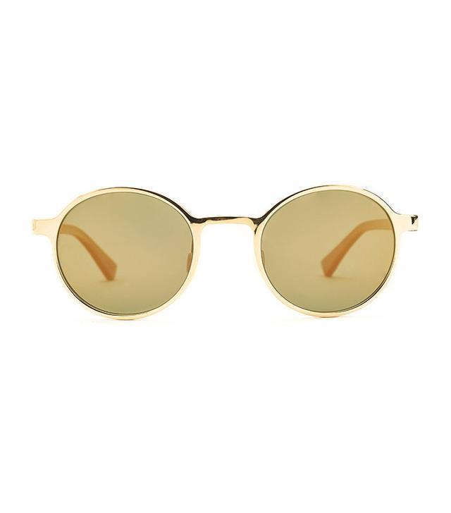 Etnia Barcelona Yokohama Sunset Gold Sunglasses