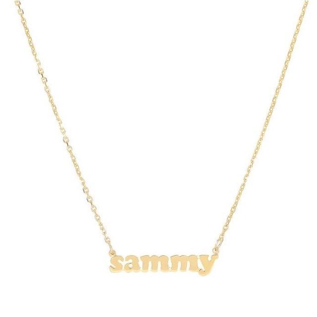 Lola James Mini Me Customizable Necklace 14k Gold