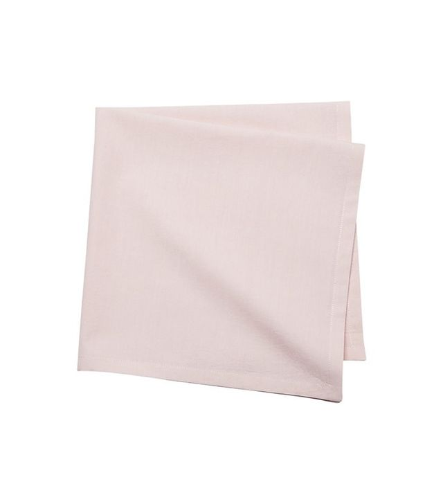 CB2 Poplin Pink Napkin