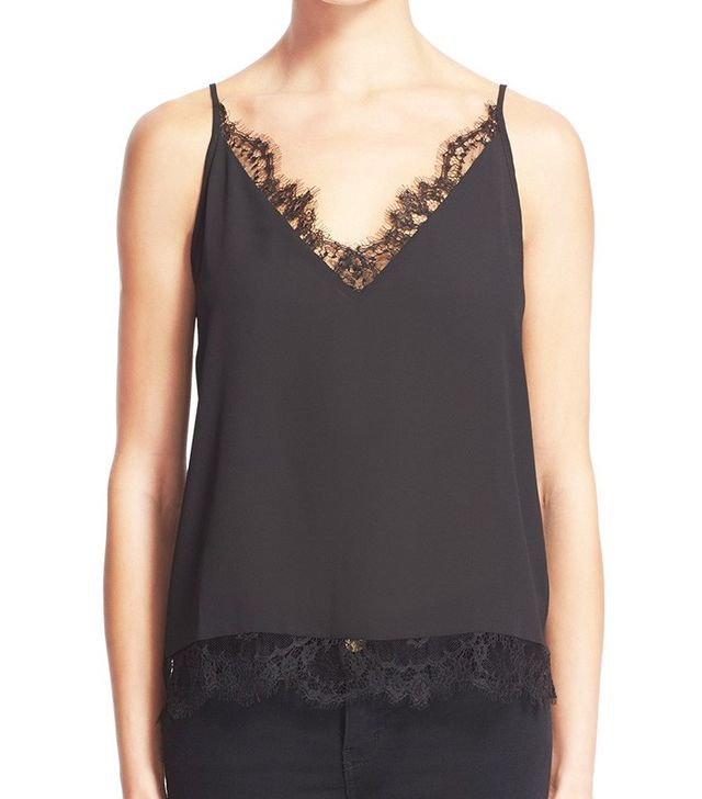 The Kooples Lace Trim Camisole