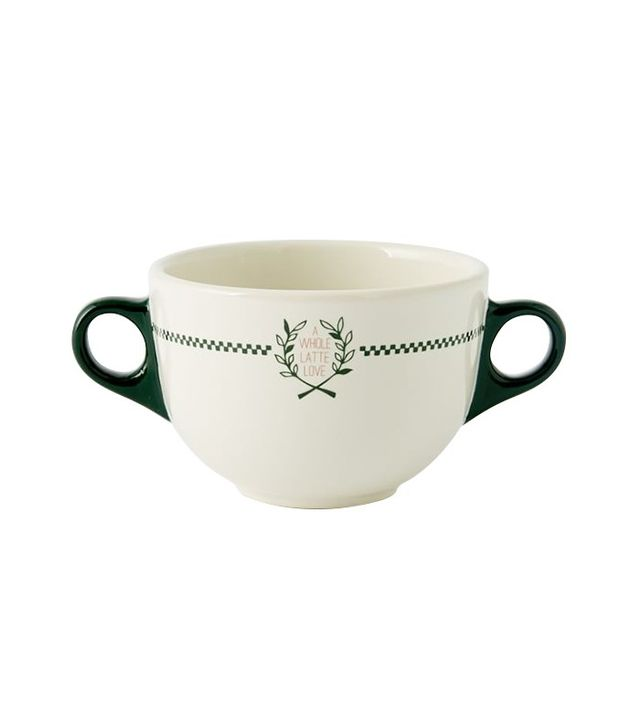 Fishs Eddy Double-Handled Mug