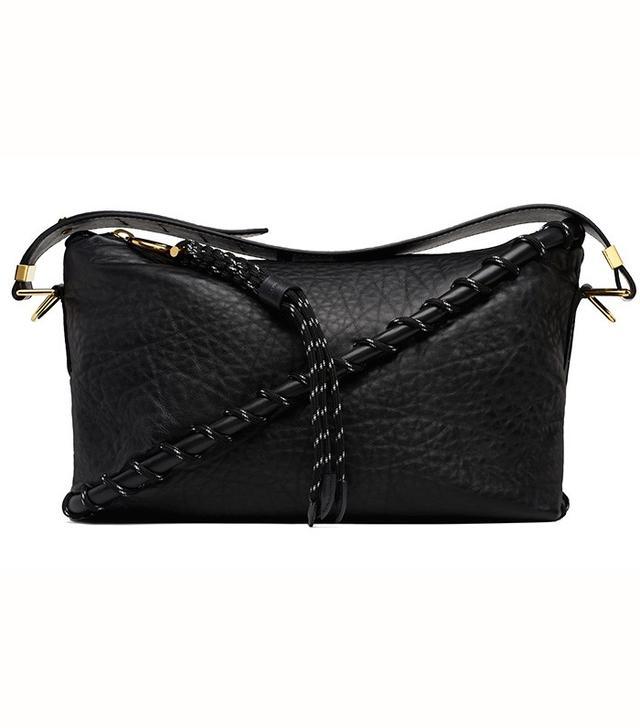 Acne Studios Rope Messenger Black Bag