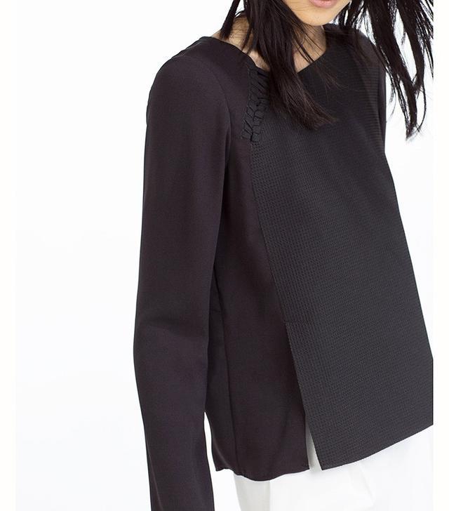 Zara Shoulder Detail Top