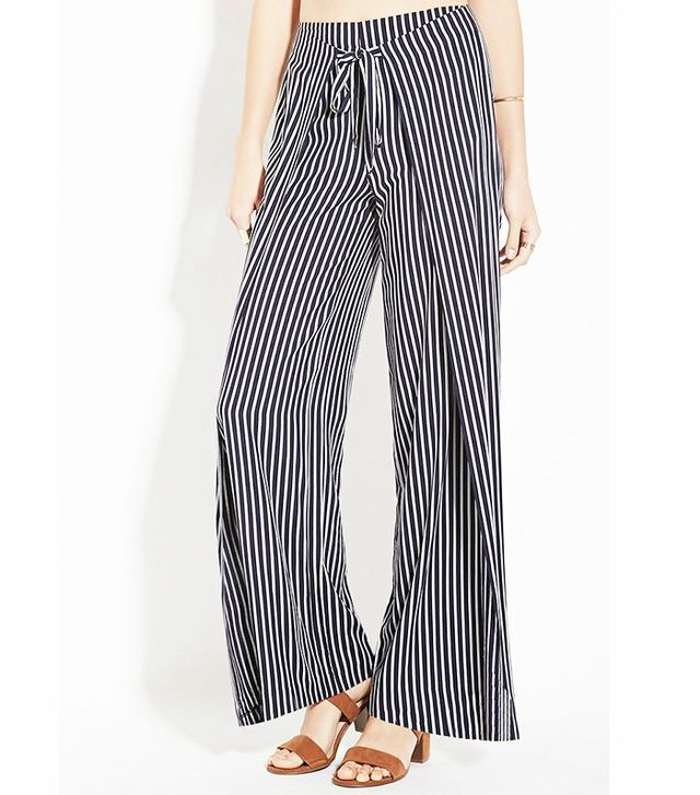 Forever 21 Contemporary Stripe Pants