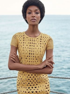 First Look: Jourdan Dunn for Vogue Brazil
