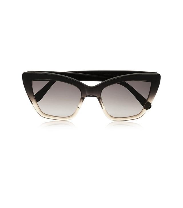 Prism Calvi Cat-Eye Acetate Sunglasses