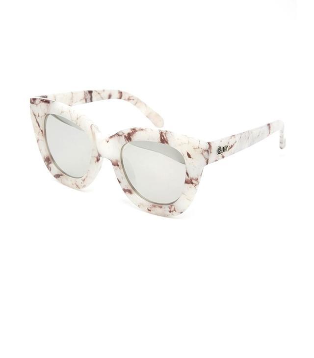 Quay Australia Sugar & Spice Mirror Cata Eye Sunglasses