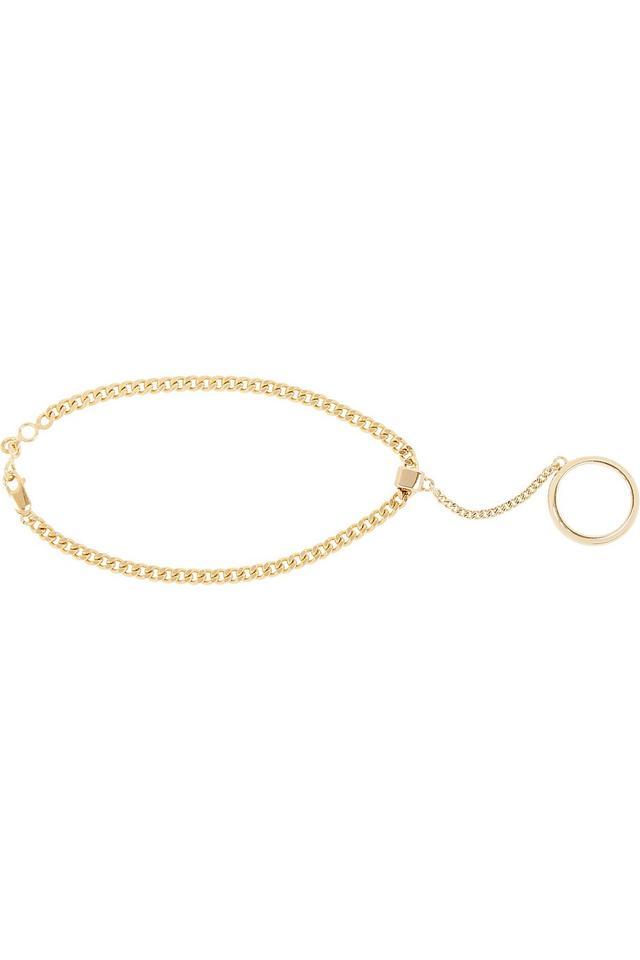 Chloé Carly Gold-Tone Anklet