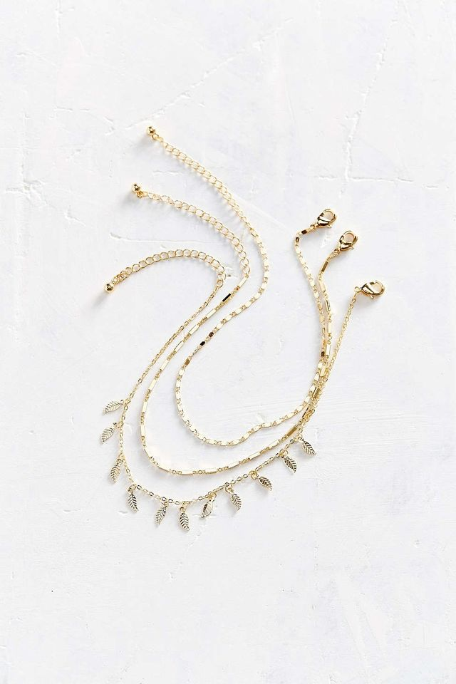 Urban Outfitters Isadora Anklet Set