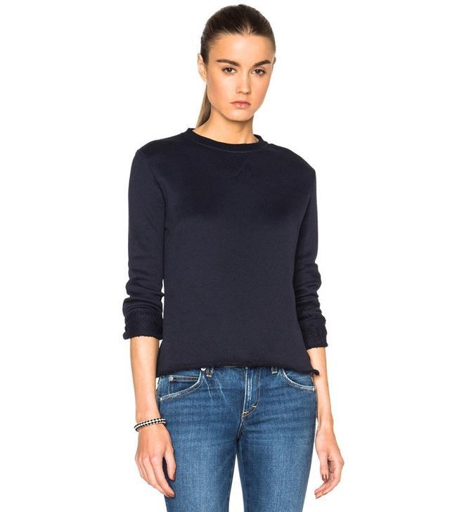 ATM Anthony Thomas Melillo Stitch Terry Sweater