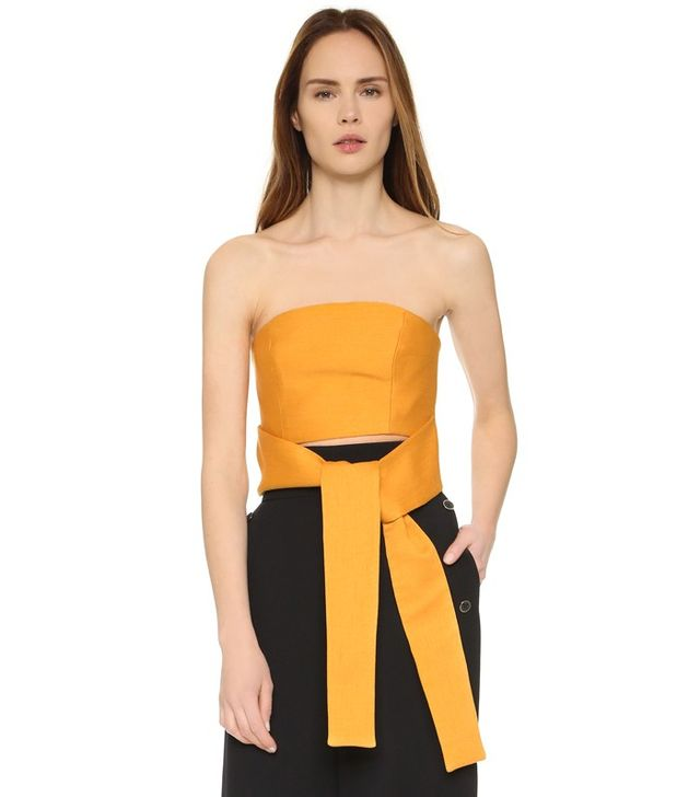 C/Meo Collective Maxing Waves Bustier Top