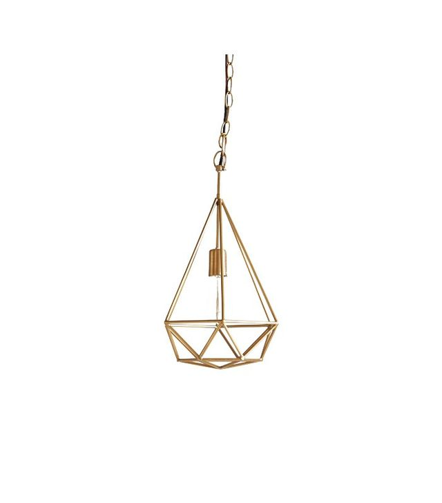 Anthropologie Euclidean Diamond Pendant