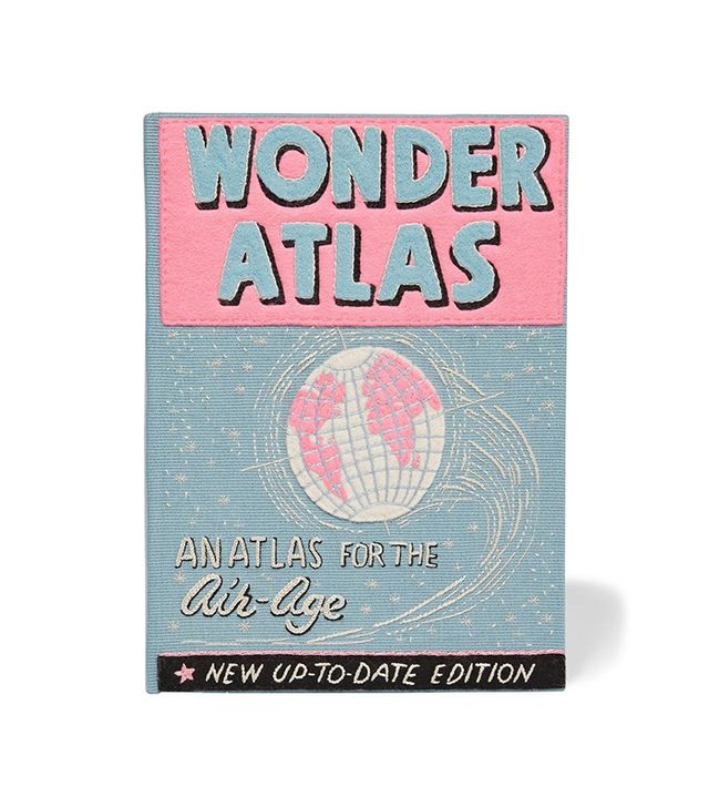 Olympia Le-Tan Wonder Atlas Embroidered Clutch
