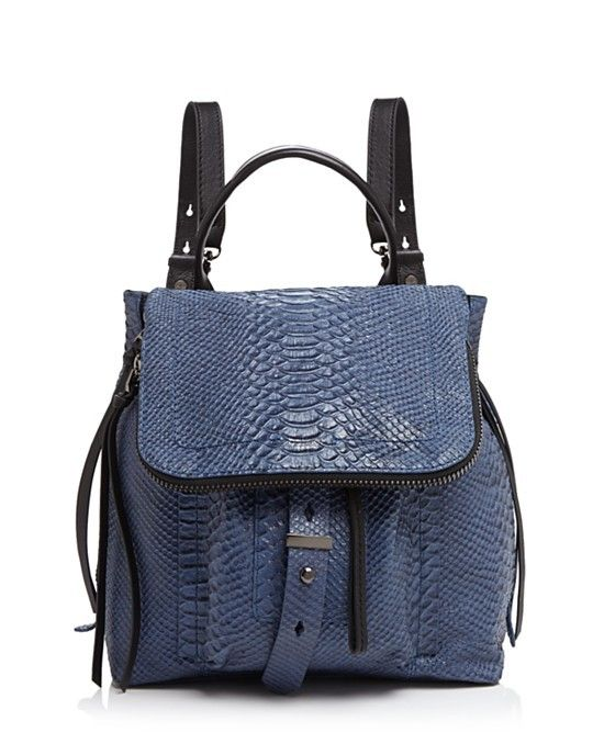 Botkier Warren Python-Embossed Backpack