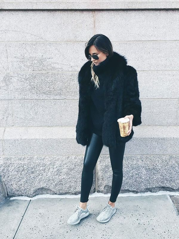 All The Fashion Girls Who Wear Yeezy Boosts | WhoWhatWear