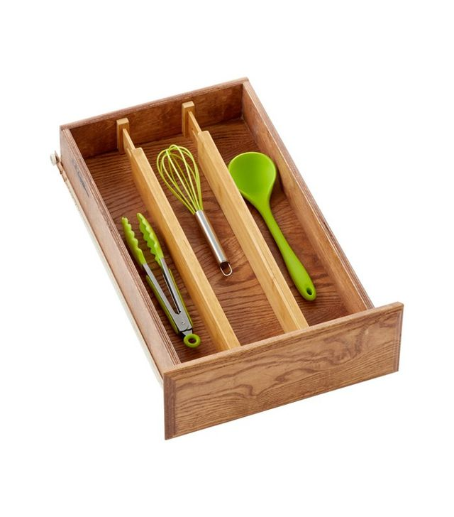 The Container Store Bamboo Drawer Dividers