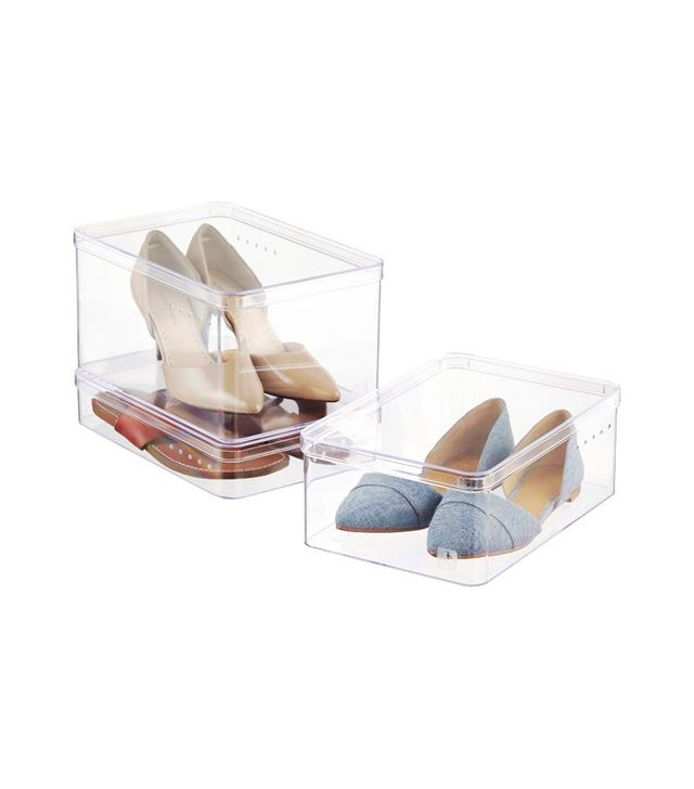The Container Store Heeled Shoes Boxes