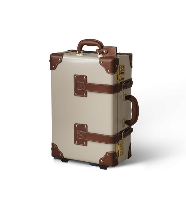 Steamline Luggage The Diplomat Carry-On in Cream