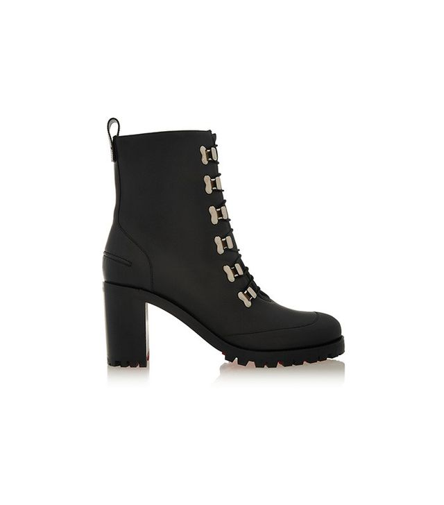 Christian Louboutin Country Croche Leather Boots