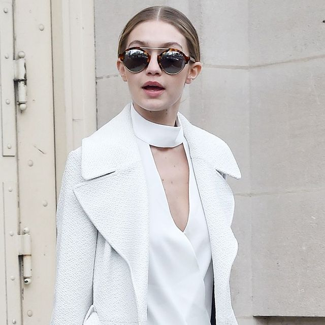 Gigi Hadid Just Took Distressed Boyfriend Jeans to Another Level