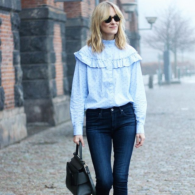 7 Looks That Will Make You Happy to Just Wear Jeans and a Top