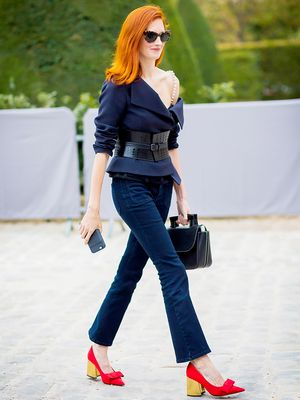 7 Rules for Wearing Cropped Flare Jeans
