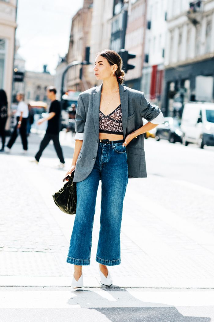 7 Rules for Wearing Cropped Flared Jeans   Who What Wear