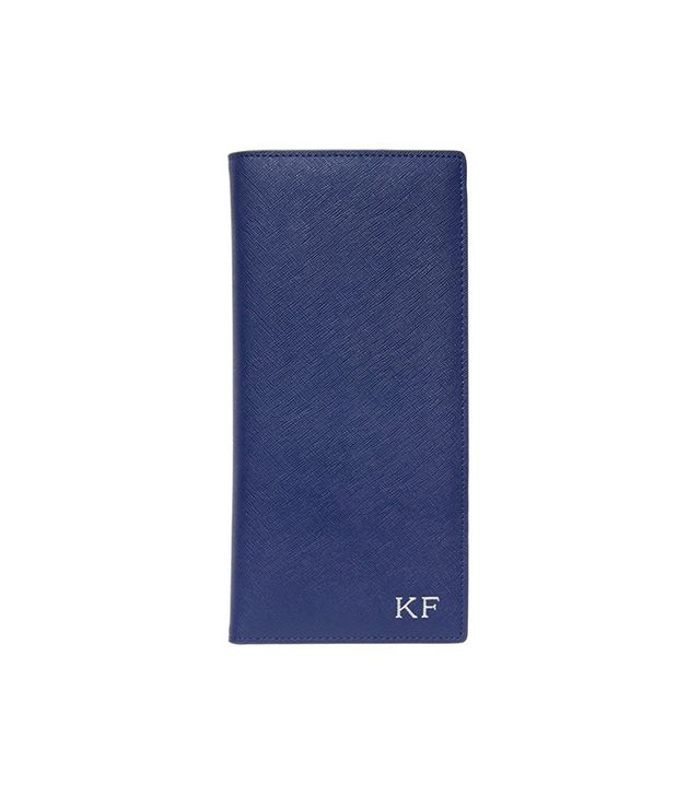 The Daily Edited Monogrammed Travel Wallet