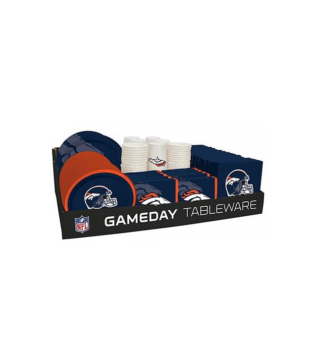 Open Sky NFL 66 Package Tableware Counter Display Denver Broncos