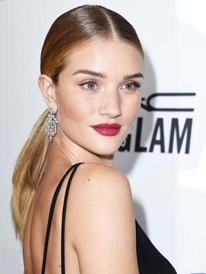 Rosie Huntington-Whiteley Reveals Her Favorite Red Lipstick