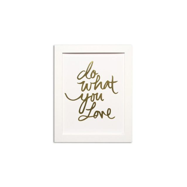 Domayne Do What You Love Print