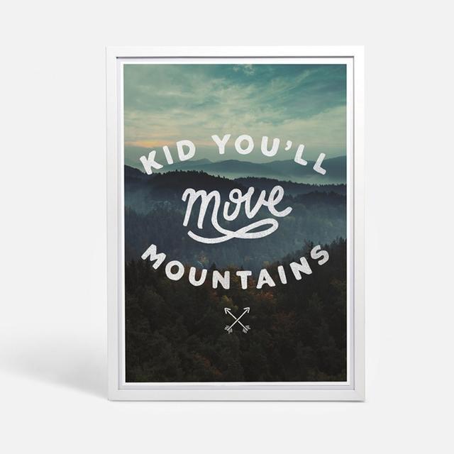 Blacklist Studio Mountains Print