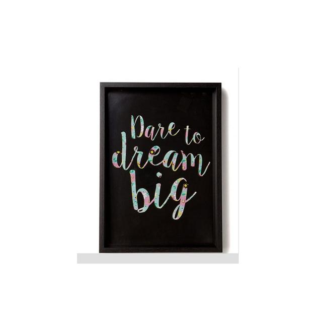 Typo A4 Framed Print