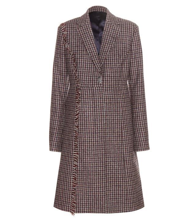 Acne Studios Alara Check Wool Coat