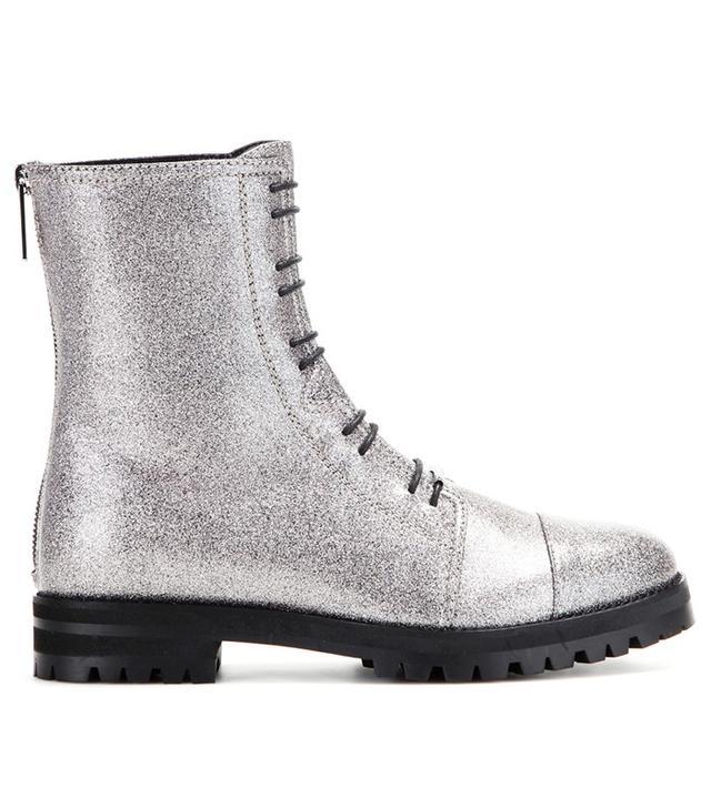 Jimmy Choo Haze Metallic Leather Boots