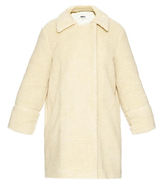MM6 by Maison Margiela Teddy Faux-Shearling Coat