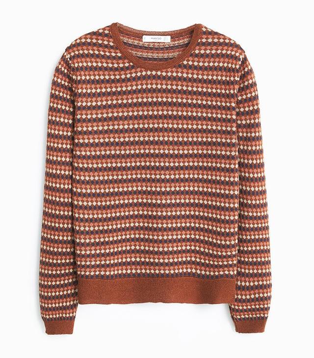 Mango Metal Thread Sweater